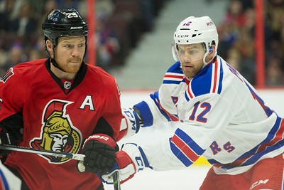 NHL 2016: Rangers vs Senators JAN 24