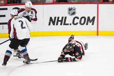 NHL 2016: Avalanche vs Senators February 11