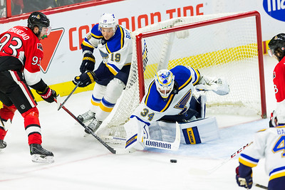NHL 2016: Blues vs Senators March 01