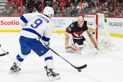 NHL 2016: Lightning vs Senators March 03