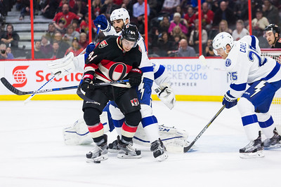 NHL 2016: Lightning vs Senators March 03