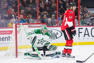 NHL 2016: Stars vs Senators March 06