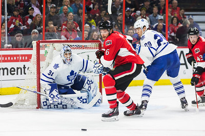NHL 2016: Maple Leafs vs Senators March 12