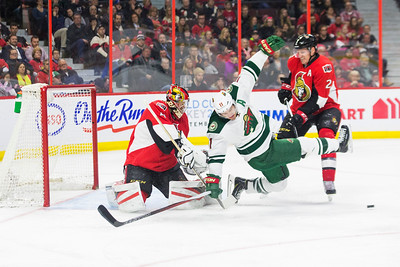 NHL 2016: Wild vs Senators March 15