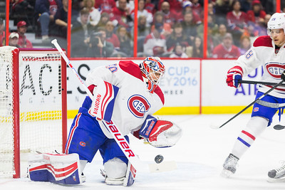 NHL 2016: Canadiens vs Senators March 19