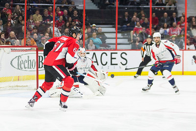 NHL 2016: Capitals vs Senators March 22