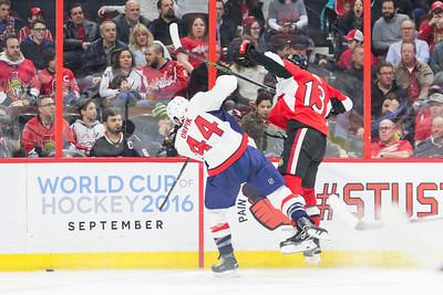 NHL 2016: Capitals vs Senators March 22
