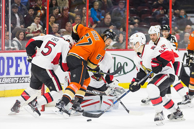 NHL 2016: Ducks vs Senators March 26