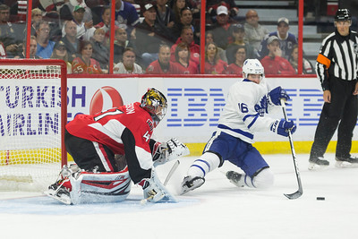 NHL 2016: Maple Leafs vs Senators October 12
