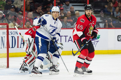 NHL 2016: Lightning vs Senators  OCT 22