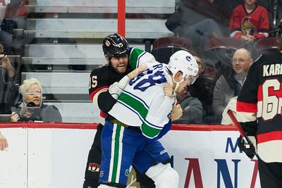 NHL 2016: Canucks vs Senators NOV 03