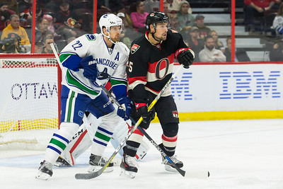NHL 2016: Canucks vs Senators NOV 03