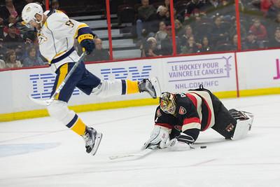 NHL 2016: Predators vs Senators NOV 17