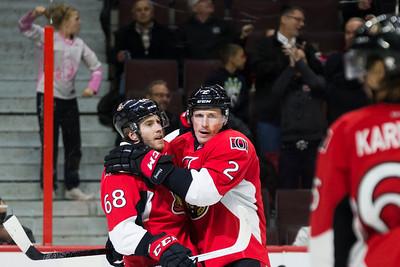 NHL 2016: Sabres vs Senators  NOV 29