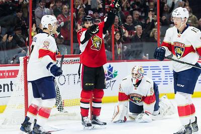 NHL 2016: Panthers vs Senators  DEC 03