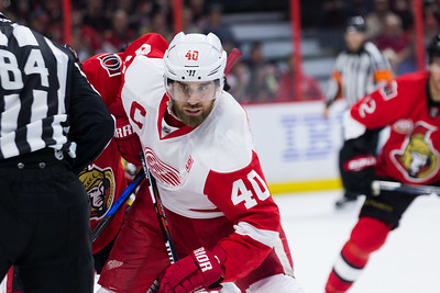 NHL 2016: Red Wings vs Senators  DEC 29