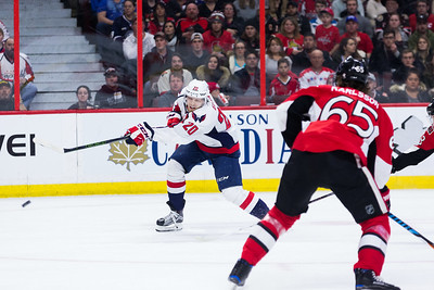 NHL 2017: Capitals vs Senators  JAN 07