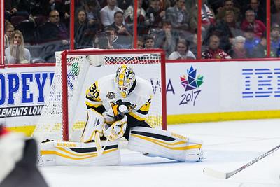 NHL 2017: Penguins vs Senators  JAN 12