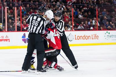 NHL 2017: Capitals vs Senators  JAN 24