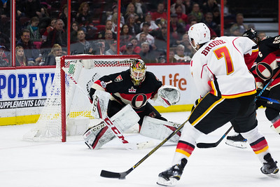NHL 2017: Flames vs Senators  JAN 26
