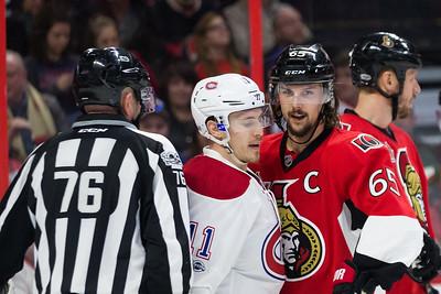 NHL 2017: Canadiens vs Senators MAR 18