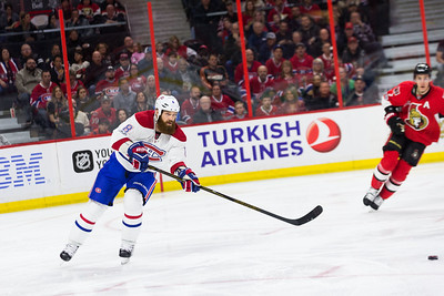 NHL 2017: Canadiens vs Senators MAR 18