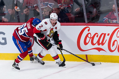 NHL 2017: Senators vs Canadiens MAR 19