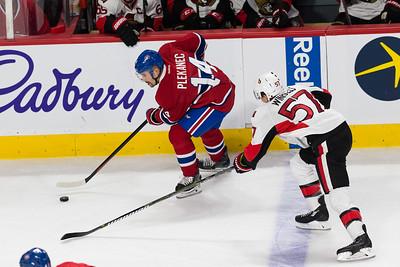 NHL 2017: Senators vs Canadiens MAR 25