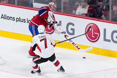 NHL 2017: Senators vs Canadiens MAR 25