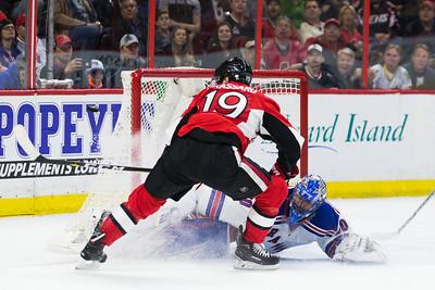 NHL 2017: Rangers vs Senators APR 08
