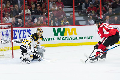 NHL 2017: Bruins vs Senators APR 12