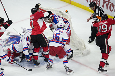 NHL 2017: Rangers vs Senators MAY 06