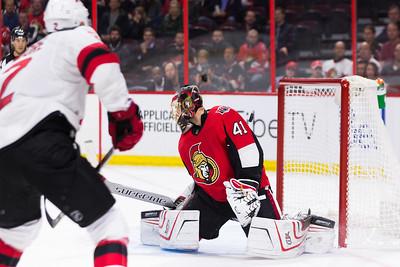NHL 2017:  Devils vs Senators October 19
