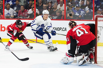 NHL 2017:  Maple Leafs vs Senators October 21