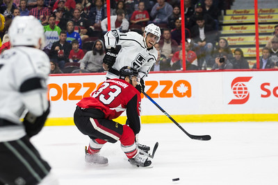 NHL 2017:  Kings vs Senators October 24