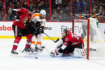 NHL 2017:  Flyers vs Senators October 26