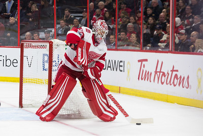 NHL 2017:  Red Wings vs Senators  November 02