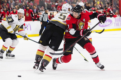 NHL 2017:  Golden Knights vs Senators  November 04