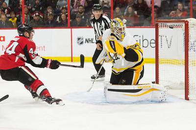 NHL 2017:  Penguins vs Senators  November 16