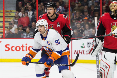 NHL 2017:  Islanders vs Senators NOV 25