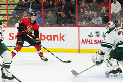 NHL 2017:  Wild vs Senators DEC 19