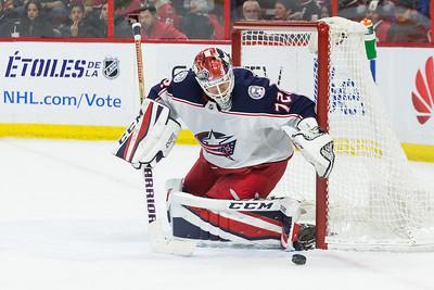 NHL 2017:  Blue Jackets vs Senators DEC 29