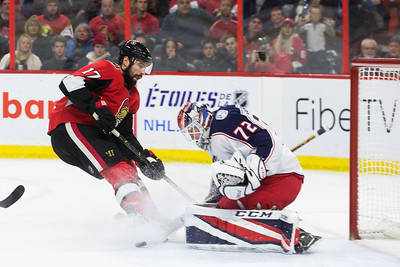 NHL 2017:  Blue Jackets vs Senators DEC 29