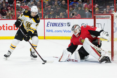 NHL 2017:  Bruins vs Senators DEC 30
