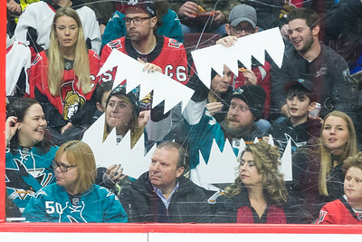 NHL 2017:  Sharks vs Senators JAN 05