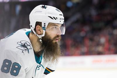 NHL 2017:  Sharks vs Senators JAN 05