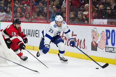 NHL 2018:  Lightning vs Senators JAN 06