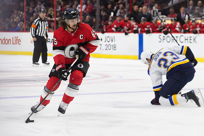 NHL 2018:  Blues vs Senators JAN 18