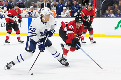 NHL 2018:  Maple Leafs vs Senators JAN 20
