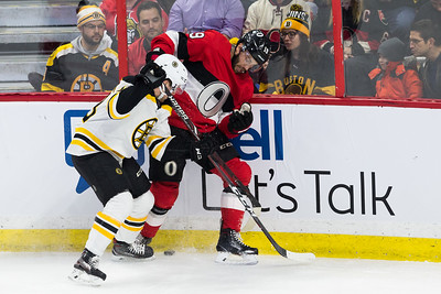 NHL 2018:  Bruins vs Senators JAN 25